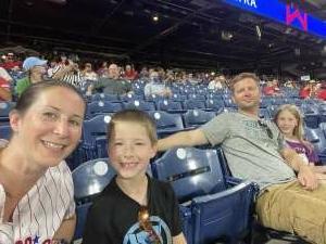 Steve B attended Philadelphia Phillies vs. Atlanta Braves - MLB on Jul 23rd 2021 via VetTix