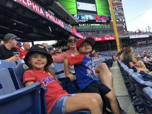 Drew  attended Philadelphia Phillies vs. Atlanta Braves - MLB on Jul 23rd 2021 via VetTix