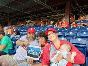 Mike attended Philadelphia Phillies vs. Atlanta Braves - MLB on Jul 23rd 2021 via VetTix