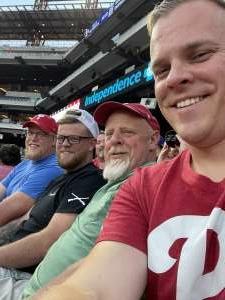 Nick attended Philadelphia Phillies vs. Atlanta Braves - MLB on Jul 23rd 2021 via VetTix