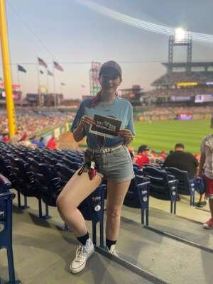 Kevin attended Philadelphia Phillies vs. Atlanta Braves - MLB on Jul 23rd 2021 via VetTix