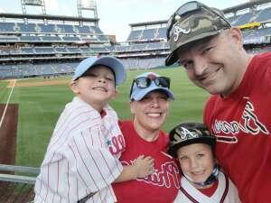 Devin attended Philadelphia Phillies vs. Atlanta Braves - MLB on Jul 23rd 2021 via VetTix