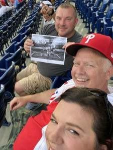 GregK attended Philadelphia Phillies vs. Atlanta Braves - MLB on Jul 23rd 2021 via VetTix