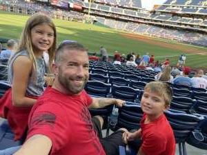 Glen attended Philadelphia Phillies vs. Atlanta Braves - MLB on Jul 23rd 2021 via VetTix