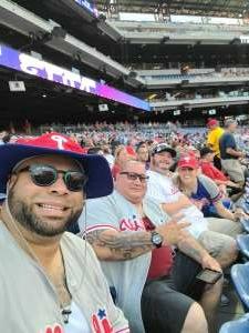 Jim attended Philadelphia Phillies vs. Atlanta Braves - MLB on Jul 23rd 2021 via VetTix