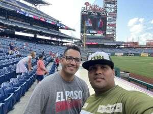 Christian G. attended Philadelphia Phillies vs. Atlanta Braves - MLB on Jul 23rd 2021 via VetTix