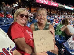 Lorry  attended Philadelphia Phillies vs. Atlanta Braves - MLB on Jul 23rd 2021 via VetTix