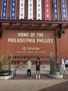 Dc attended Philadelphia Phillies vs. Atlanta Braves - MLB on Jul 23rd 2021 via VetTix