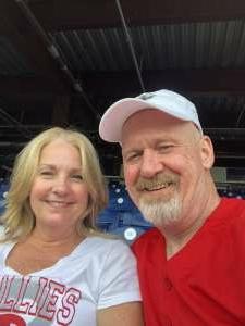 Bob attended Philadelphia Phillies vs. Atlanta Braves - MLB on Jul 23rd 2021 via VetTix