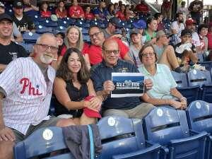 Gary Lyman attended Philadelphia Phillies vs. Atlanta Braves - MLB on Jul 23rd 2021 via VetTix