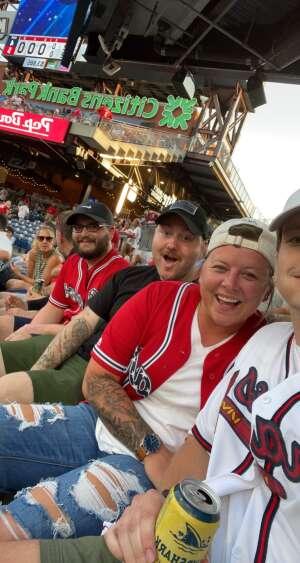 Jon M attended Philadelphia Phillies vs. Atlanta Braves - MLB on Jul 23rd 2021 via VetTix