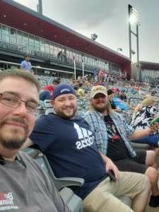 Keith Ustaszewski attended Chicago Dogs vs. Cleburne Railroaders - MLB Partner League on Jul 23rd 2021 via VetTix