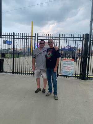 Clutch  attended Chicago Dogs vs. Cleburne Railroaders - MLB Partner League on Jul 23rd 2021 via VetTix