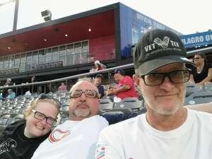 Michael attended Chicago Dogs vs. Cleburne Railroaders - MLB Partner League on Jul 23rd 2021 via VetTix