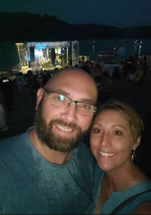 Amie & Bobby attended Southern Roots Lake Jam 2021 on Jul 24th 2021 via VetTix