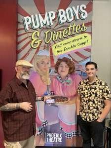 Bob attended Pump Boys and Dinettes on Jul 21st 2021 via VetTix