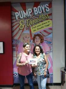Denise attended Pump Boys and Dinettes on Jul 21st 2021 via VetTix