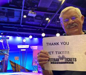 Tom Cannon attended Pump Boys and Dinettes on Jul 21st 2021 via VetTix