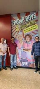 Larry attended Pump Boys and Dinettes on Jul 21st 2021 via VetTix