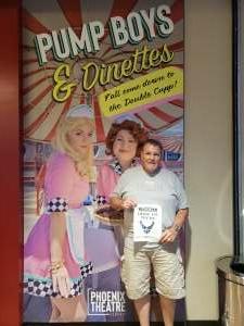 DJ attended Pump Boys and Dinettes on Jul 21st 2021 via VetTix