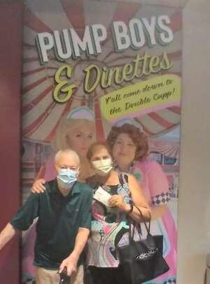 Wally Amundson attended Pump Boys and Dinettes on Jul 21st 2021 via VetTix