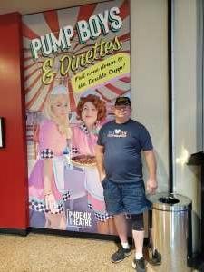 James  attended Pump Boys and Dinettes on Jul 21st 2021 via VetTix