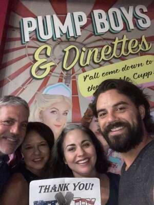 Stephen C attended Pump Boys and Dinettes on Jul 21st 2021 via VetTix