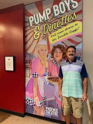 Bill attended Pump Boys and Dinettes on Jul 21st 2021 via VetTix