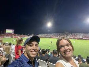 John attended Phoenix Rising FC vs. Vs. LA Galaxy II - USL on Jul 17th 2021 via VetTix