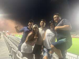 Soccer game  attended Phoenix Rising FC vs. Vs. LA Galaxy II - USL on Jul 17th 2021 via VetTix