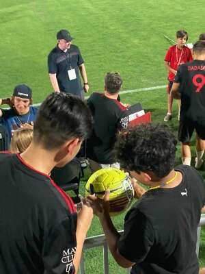 Scott attended Phoenix Rising FC vs. Vs. LA Galaxy II - USL on Jul 17th 2021 via VetTix