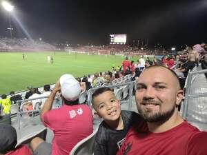 Ezequiel  attended Phoenix Rising FC vs. Vs. LA Galaxy II - USL on Jul 17th 2021 via VetTix