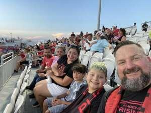 Kaz attended Phoenix Rising FC vs. Vs. LA Galaxy II - USL on Jul 17th 2021 via VetTix