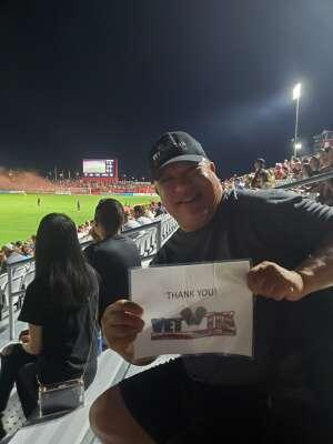 Greg H attended Phoenix Rising FC vs. Vs. LA Galaxy II - USL on Jul 17th 2021 via VetTix