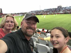 Grant attended Phoenix Rising FC vs. Vs. LA Galaxy II - USL on Jul 17th 2021 via VetTix