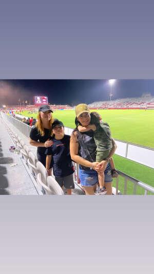 Michelle attended Phoenix Rising FC vs. Vs. LA Galaxy II - USL on Jul 17th 2021 via VetTix