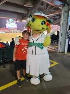 Sarah Dill attended Dayton Dragons vs. Lake County Captains - MiLB on Jul 30th 2021 via VetTix