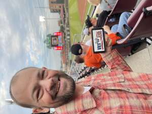 SFC(ret) Nicholas Smith attended Dayton Dragons vs. Lake County Captains - MiLB on Jul 30th 2021 via VetTix