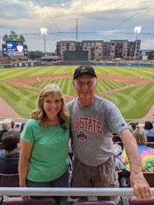 Denny attended Dayton Dragons vs. Lake County Captains - MiLB on Jul 30th 2021 via VetTix