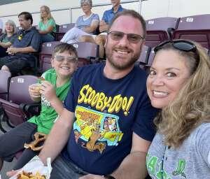 Diane Strohm attended Dayton Dragons vs. Lake County Captains - MiLB on Jul 30th 2021 via VetTix
