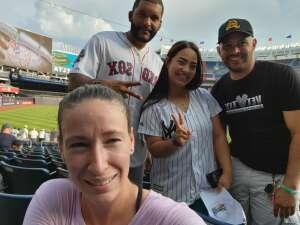 Waldys romero  attended New York Yankees vs. Boston Red Sox - MLB on Jul 16th 2021 via VetTix
