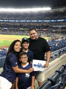 ESJ attended New York Yankees vs. Boston Red Sox - MLB on Jul 16th 2021 via VetTix