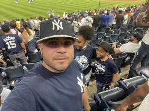 Rivera attended New York Yankees vs. Boston Red Sox - MLB on Jul 16th 2021 via VetTix