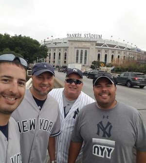 Chris attended New York Yankees vs. Boston Red Sox - MLB on Jul 16th 2021 via VetTix