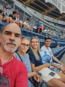 Jim Rossmeissl attended New York Yankees vs. Boston Red Sox - MLB on Jul 16th 2021 via VetTix