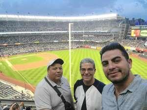Ricardo  attended New York Yankees vs. Boston Red Sox - MLB on Jul 16th 2021 via VetTix