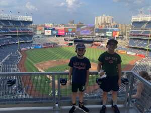 Robyn  attended New York Yankees vs. Boston Red Sox - MLB on Jul 16th 2021 via VetTix