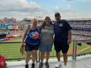 Kathleen attended New York Yankees vs. Boston Red Sox - MLB on Jul 16th 2021 via VetTix