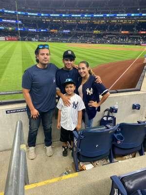 J attended New York Yankees vs. Boston Red Sox - MLB on Jul 16th 2021 via VetTix
