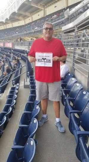 Ed attended New York Yankees vs. Boston Red Sox - MLB on Jul 16th 2021 via VetTix